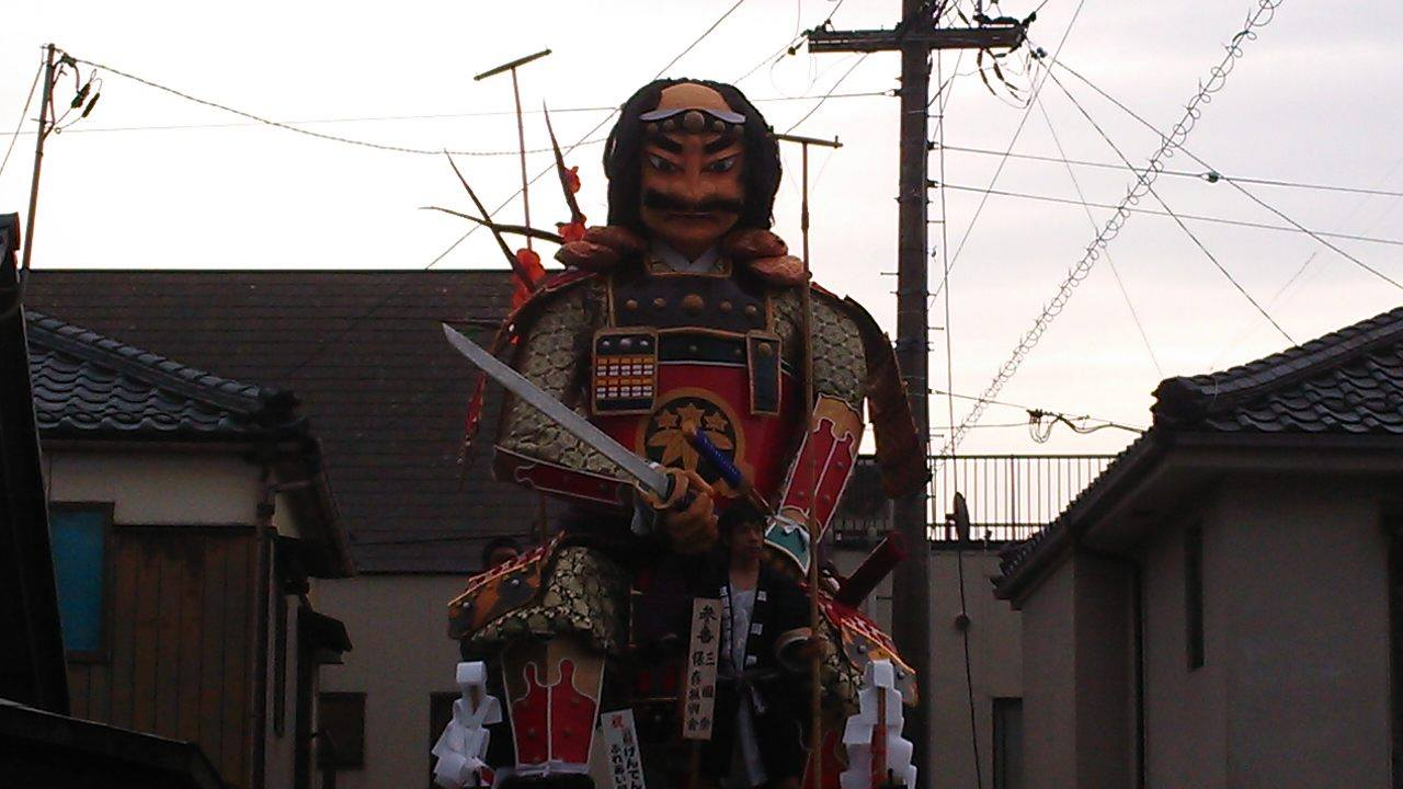 三国祭 北陸三大祭 毎年5月20日 Mikuni Matsuri Festival held on May 20 every year